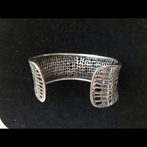 Silpada mesh cuff *sterling silver*